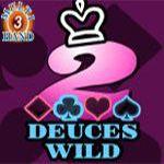 Deuces Wild (3 Hands)