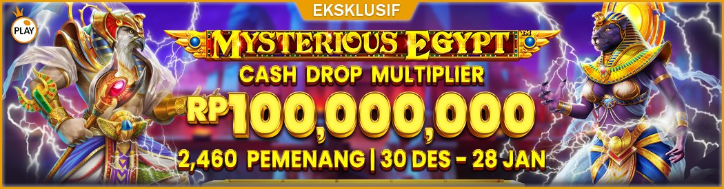 PP Mysterious Egypt Cash Drop Multiplier